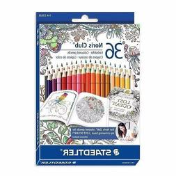 Staedtler Noris Club Colored Pencil 36 Colors Johanna Basfor