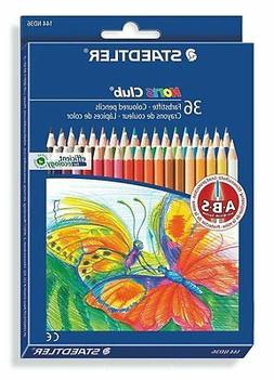 Staedtler Noris Club Colored Pencils, 36 Colors