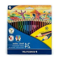 Staedtler Noris Colour set of 24 colored pencils Wopex soft