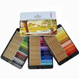 Professional numbered 72 Colored Pencils Oil-Based Soft Core