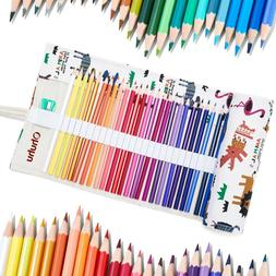 Ohuhu Oil-colored Pencils 48 Colors Coloring Book for Drawin