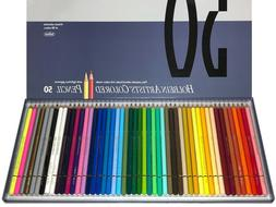 New Holbein OP935 Artists Colored Pencil Set 50 Colors Drawi