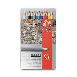 Caran D'ache 12 Color Pablo Set
