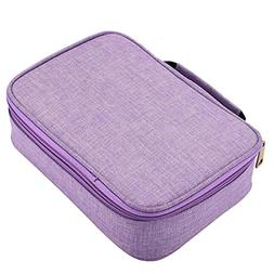 Pencil Case with Compartments 72 Slots With Zipper to Store