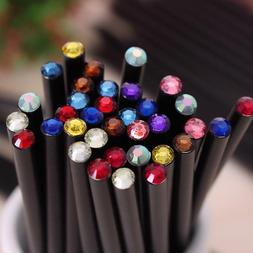 Pencil Diamond 12pcs Set Hb Stationery Drawing Color Pencils