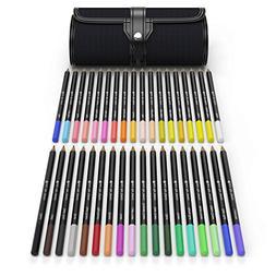 Castle Art Supplies 36 Piece Colored Pencil Set With Canvas