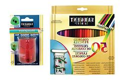 Sargent Art Sargent Art-22-0084 Combo 50 Count Colored Penci