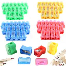 72 Colored Pencil Sharpener - Plastic Manual Pencil Sharpene