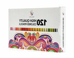 Positive Art Colored Pencils 120 Unique Colors Perfect for a