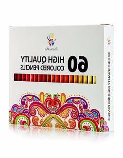 Colored Pencils 60 Unique Colors -Positive Art— Perfect fo