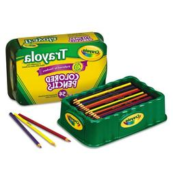 Crayola Colored Pencils, 54 Premium Quality, Long-Lasting, P