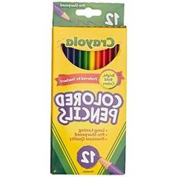 Crayola 68-4012 Colored Pencils, 12-Count, Pack of 2, Assort