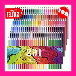 Pencils Colored Prisma color Premier Set Pack of 168 Soft Co