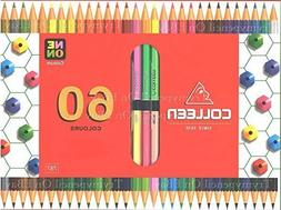 Colleen 60 Colors Box of 30 Coloured Pencils - No 787 From T