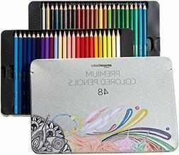 AmazonBasics Colored Pencils - 48-Count