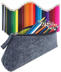 Colored Pencils 48 Pieces & Pencil Case