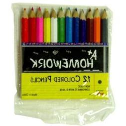 "Colored Pencils - Mini 3.5"" - 12 pack"