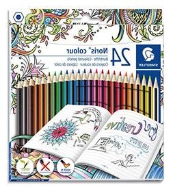 Staedtler Colored Pencils, Noris Color, soft break resistant