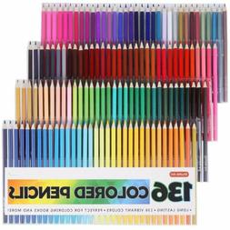 Shuttle Art 136 Colored PencilsColored Pencil Set for Adult