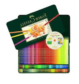 Faber Castell Polychromos 120 Pencil Metal Tin Set