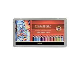 Koh-I-Noor Polycolor 72 Pencil Tin Set