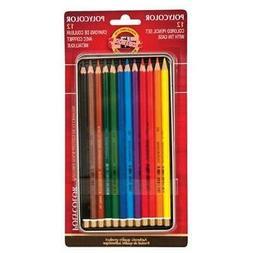 polycolor drawing pencils