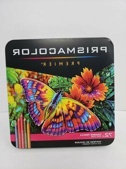 PRE-OWNED Prismacolor Premier Colored Pencils, Soft Core, 72