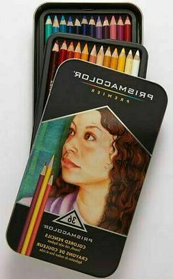 PRISMACOLOR PREMIER 36 COLORED PENCILS NEW FACTORY SEALED