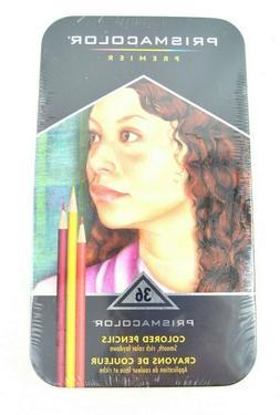 Prismacolor Premier Artists Colored Pencils Tin Set of 36 -