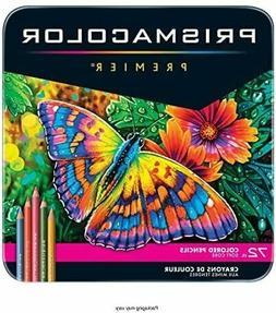 Sanford Prismacolor Premier Colored Pencils 72pcs 3599TN