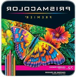 Premier Colored Pencils Soft Core Assorted Colors 72 Pack St