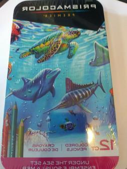 Prismacolor ~ Premier Colored Pencils ~ Under The Sea ~ 12 c
