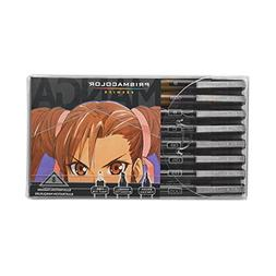 Prismacolor Premier Manga Illustration Markers, Assorted Tip
