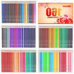 Soucolor Premier Soft Core Colored Pencils 160-Count resist