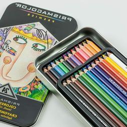 Prismacolor Premier Soft Core Colored Pencils - Set of 24 -