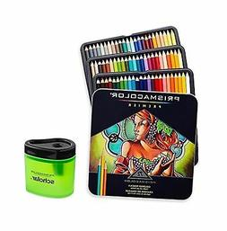 Prismacolor 3599TN Premier Soft Core 72 Colored Pencils + 17