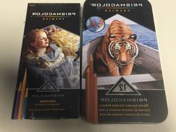Prismacolor Premier Verithin 12 pencils & 12 Water-soluble c