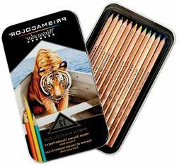 Prismacolor Premier Water-Soluble Colored Pencils, 12 Pack,