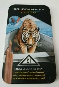 Prismacolor Premier Water-Soluble Colored Pencils 12 Pack TI