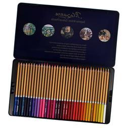 Craft County Premium Colored Pencils Tin Set - 72 Color Opti