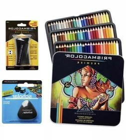 Prisma Prismacolor Premier Colored 72 Pencils,+ Scholar Eras