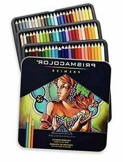Prisma Prismacolor Premier Colored Pencils, Soft Core, 72 Pa