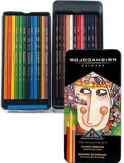 PRISMACOLOR PREMIER 24 Soft Core Colored Pencils PROFESSIONA