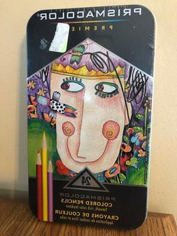 Prismacolor Premier Colored Pencils Soft Core Set of 24 New