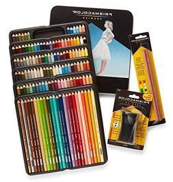 Prismacolor Premier Colored Pencils, Soft Core, 132 Pack  wi