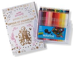 prismacolor scholar colored pencils pack adult coloring book