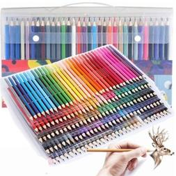 Pro 160 Colors Drawing Artist Pencils Set Painting Sketch No