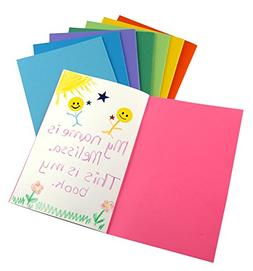 Hygloss Products Colorful Paperback Blank Books - Sketch, Wr