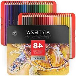 ARTEZA Professional Colored Pencils, Set of 48