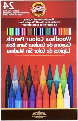 Koh-I-Noor Progresso 24 Woodless Colour Pencils
